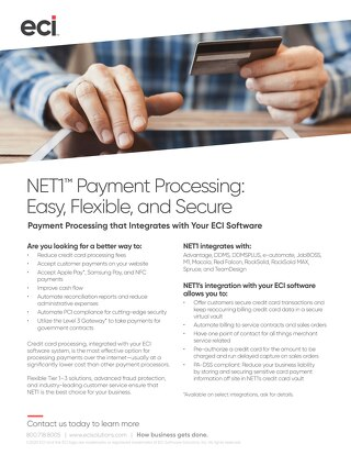 NET1 Solution Flyer