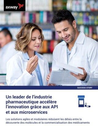 Un leader de l'industrie  pharmaceutique accélère  l'innovation grâce aux API  et aux microservices