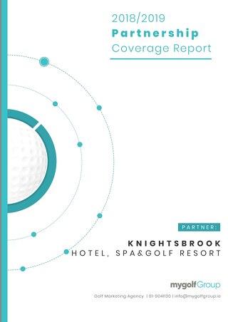 My Golf Group 2018/19 Partnership Report - Knightsbrook Golf Resort
