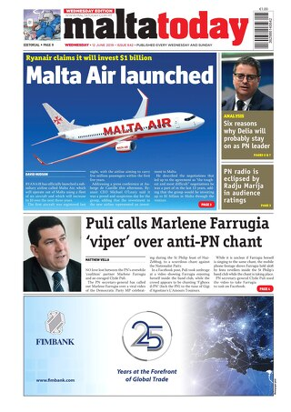 MALTATODAY 12 June 2019 Midweek