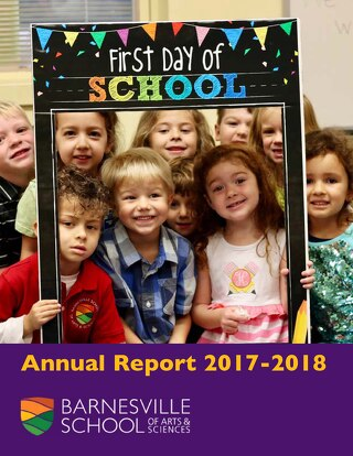 Barnesville School Annual Report 2017-2018
