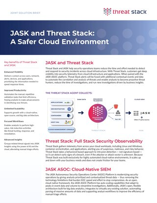 JASK and Threat Stack