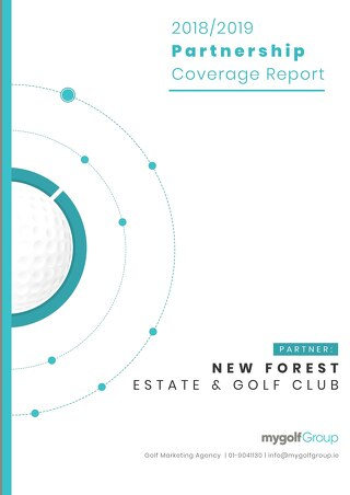 My Golf Group 2018/19 Partnership Report - New Forest Golf Club