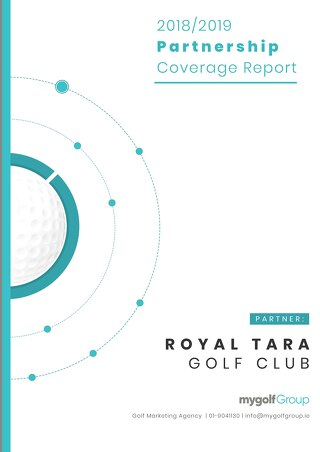My Golf Group 2018/19 Partnership Agreement - Royal Tara Golf Club