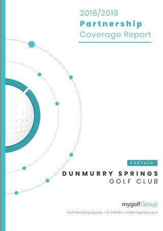 My Golf Group 2018/19 Partnership Report - Dunmurry Springs Golf Club