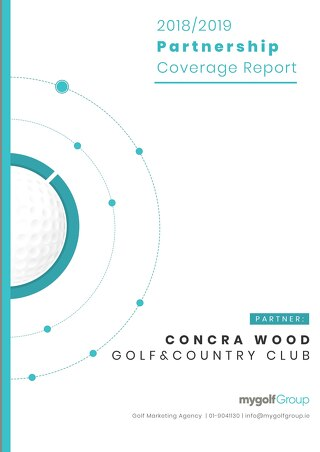 My Golf Group 2018/19 Partnership Report - Concra Wood Golf Club
