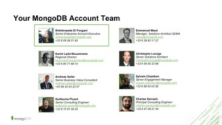 Your MongoDB Team for CMA CGM