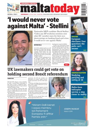 MALTATODAY 22 May 2019 Midweek
