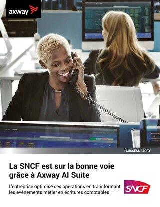 La SNCF est sur la bonne voie grâce à Axway AI Suite