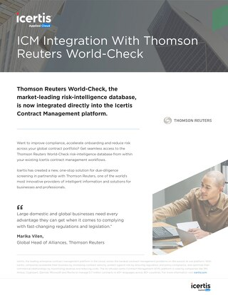 Thomson Reuters datasheet