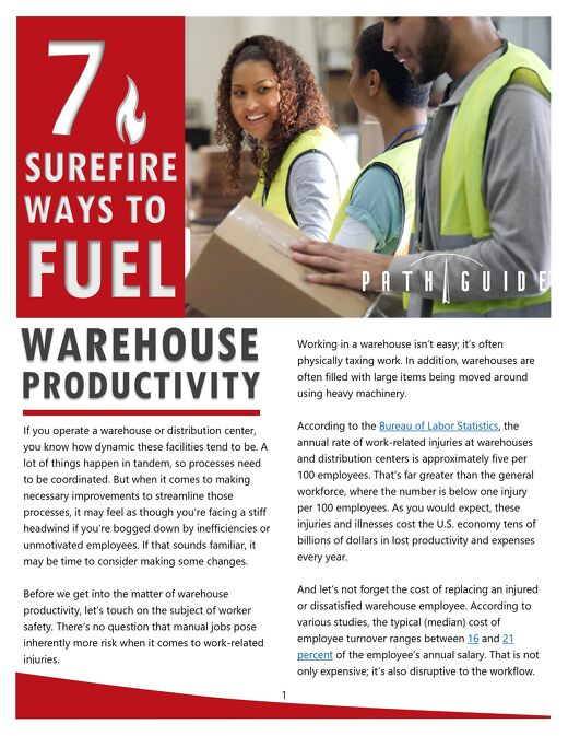 Fuel Your Warehouse Productivity