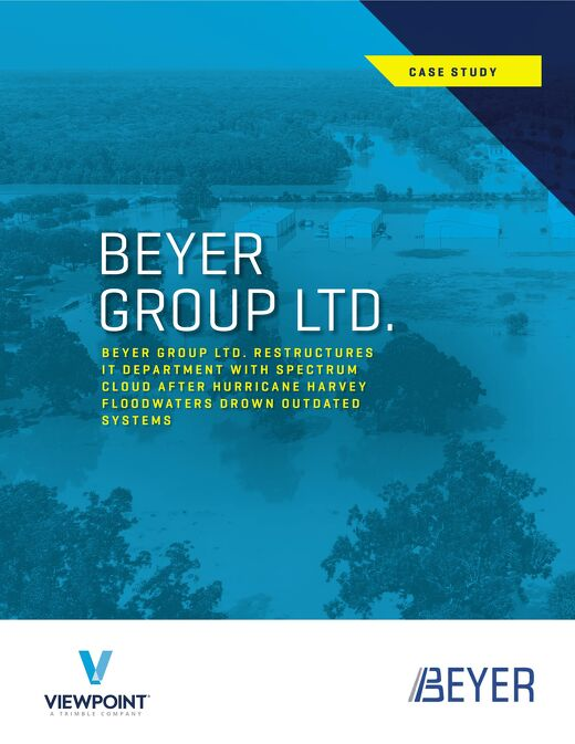 Beyer Group LTD Served Clients During Hurricane Harvey