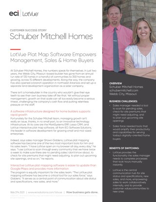 Case Study: Schuber Mitchell Homes