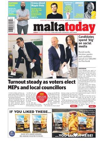 MALTATODAY 26 May 2019