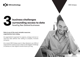 Top 3 access to data challenges in NZ