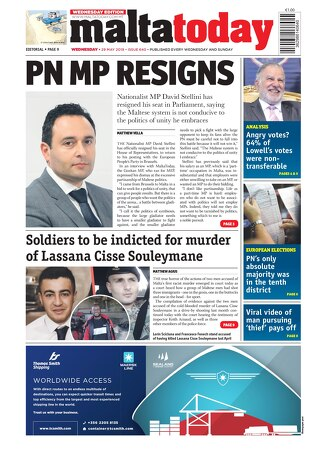 MALTATODAY 29 May 2019 Midweek
