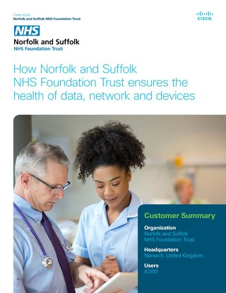 Norfolk and Suffolk NHS Customer Story
