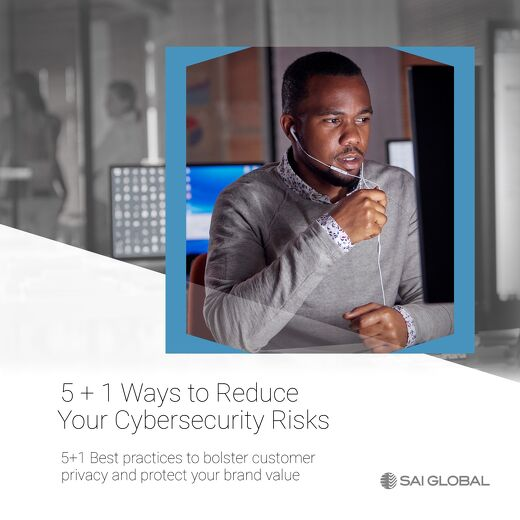 5 + 1 Ways to Reduce Your Cybersecurity Risks