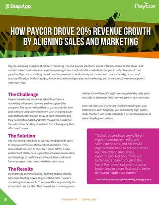 Case Study: Paycor