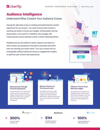 How Uberflip Helps With Audience Intelligence