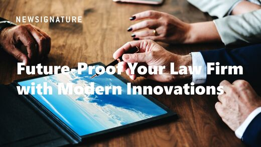 New Signature Future Proof your Law Firm Guide 2019