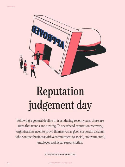 Reputation Judgement Day, Communication Director
