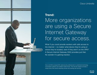 Trend Report: More Organizations are Using a Secure Internet Gateway for Secure Access
