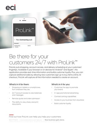 Spruce ProLink Solution Brief