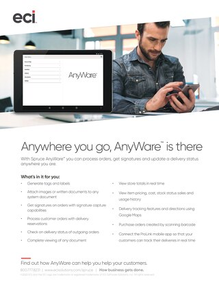 Spruce AnyWare Solution Brief
