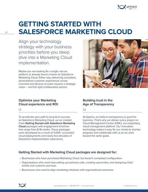 Get Started with Salesforce Marketing Cloud