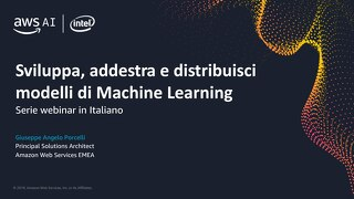 Sviluppa, addestra e distribuisci modelli di machine learning