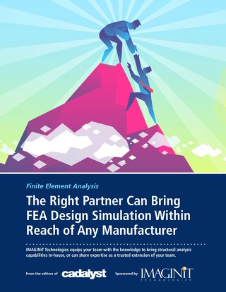 The Right Partner Can Bring FEA Design Simulation Within Reach