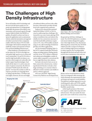 The Challenges Of High Density Infrastructure