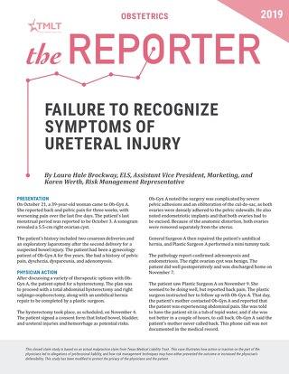 Reporter 2019 Obstetrics