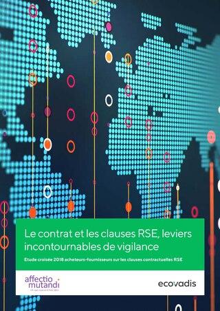 Le contrat et les clauses RSE, leviers incontournables de vigilance