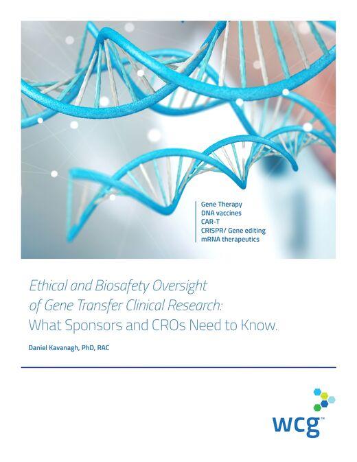 WCG_BioOversightGeneResearch_White Paper_Final_July2019
