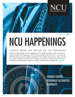 NCU Happenings July 2019