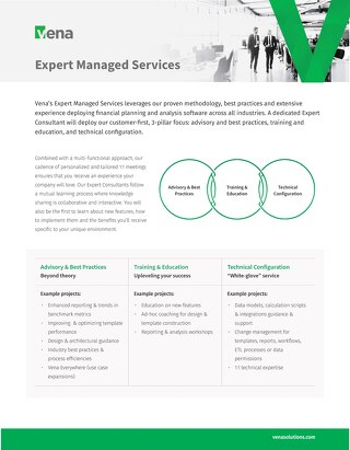 Vena Solution Package: Expert Managed Services