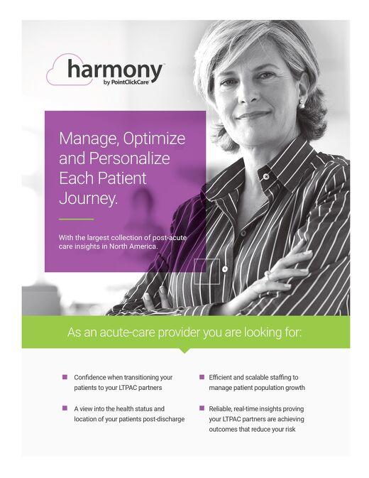 Harmony Solution Sheet