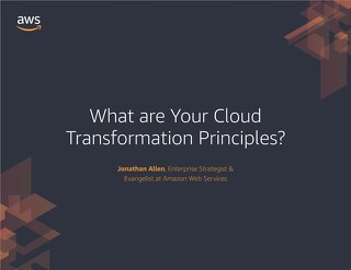 Ebook: What are Your Cloud Transformation Principles?