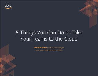 Ebook: 5 Things You Can Do to Take Your Team to the Cloud