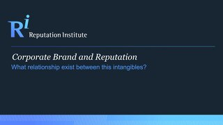 Understanding the Relationship between Brand and Reputation