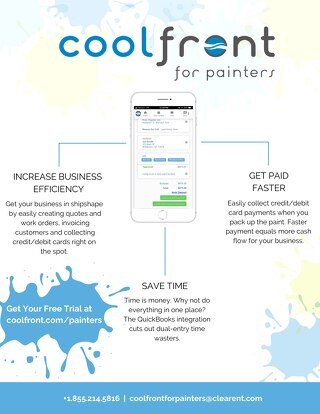 Coolfront Painters One-Pager
