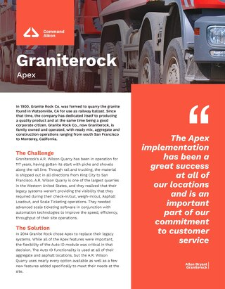 Apex Grainterock Case Study