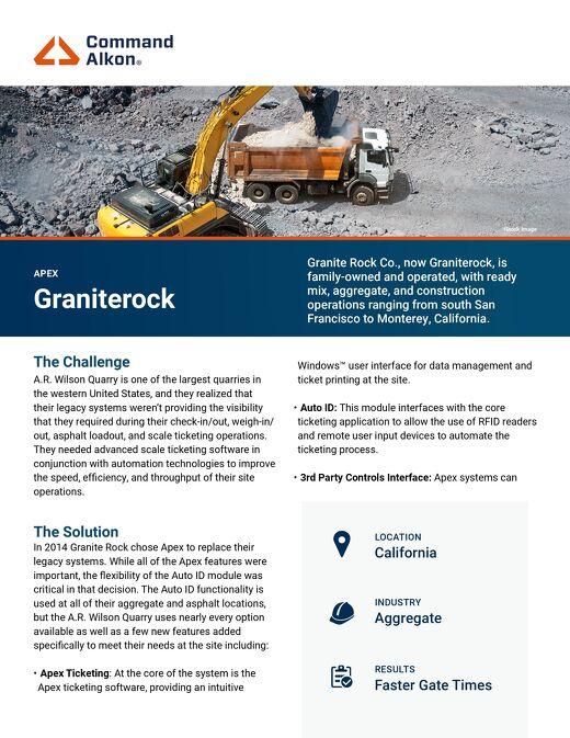 Apex Grainterock Case Study