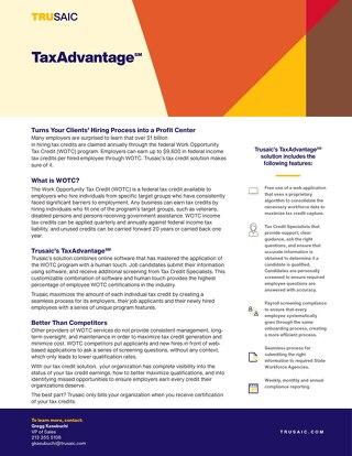 TaxAdvantage