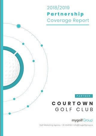 My Golf Group 2018/19 Partnership Report - Courtown Golf Club
