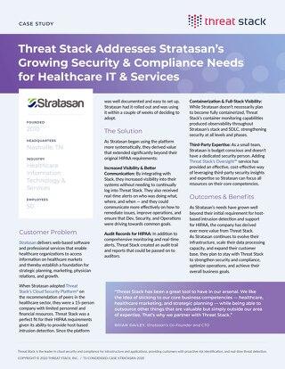 Stratasan Case Study