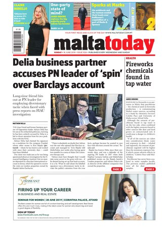 MALTATODAY 16 June 2019