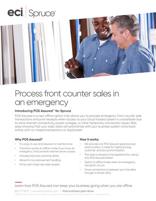 Spruce POS Assured Solution Brief